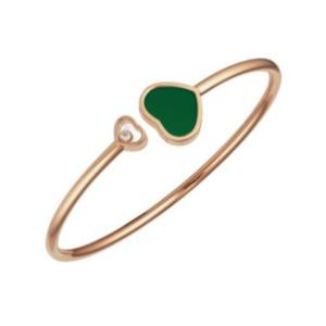 Chopard Happy Hearts Green Agate