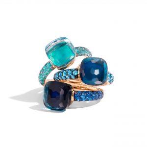 Nudo Deep Blue Rings by Pomellato (2)