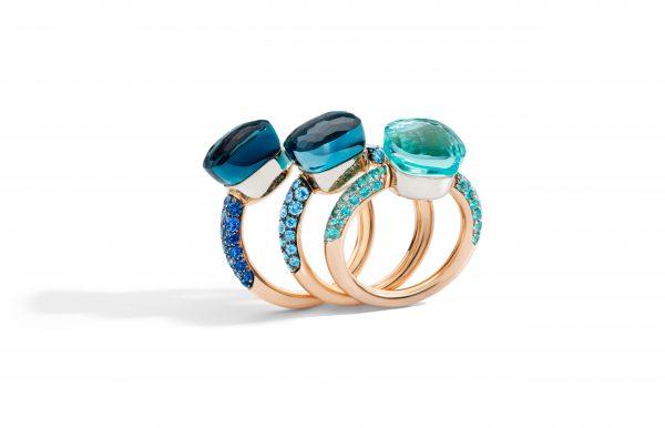 Nudo Deep Blue Rings by Pomellato (3)