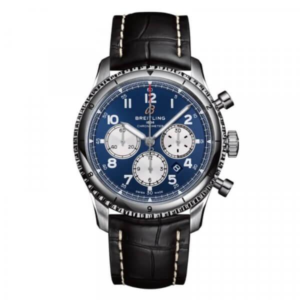 Breitling Aviator 8 B01 Chronograph 43 - modre - 01-min
