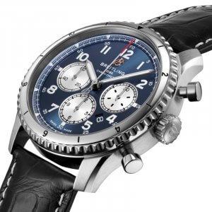Breitling Aviator 8 B01 Chronograph 43 - modre - 02-min
