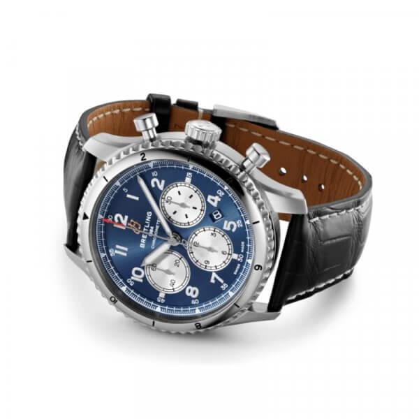 Breitling Aviator 8 B01 Chronograph 43 - modre - 03-min