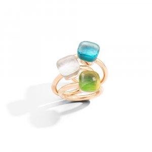 NUDO GELE' rings by Pomellato