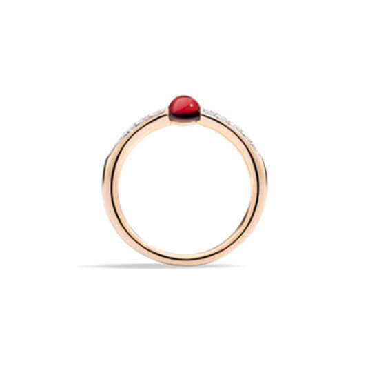 pomellato mamma non mamma - ring red3